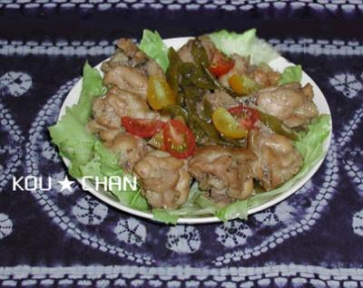 鶏肉のすっぱ煮3