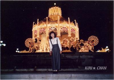 スペイン広場のイルミ1