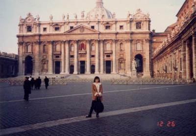 サンピエトロ寺院/バチカンの国境?