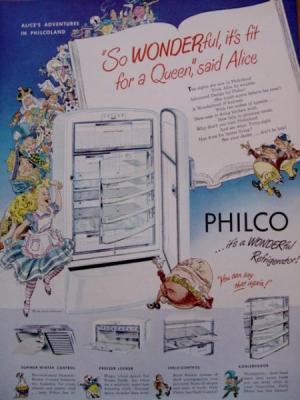 アリス:冷蔵庫広告