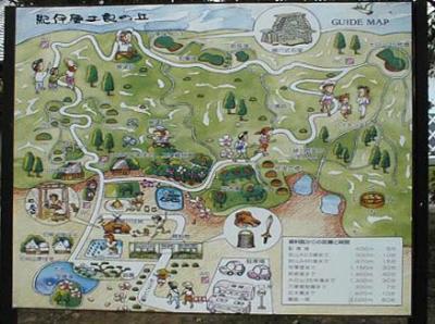 紀伊風土記の丘24-敷地内地図