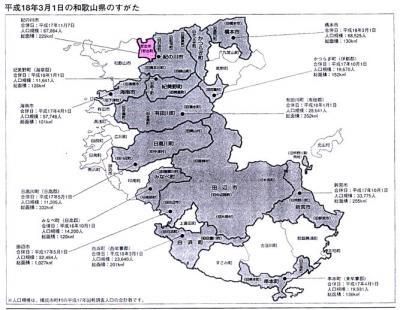 和歌山県の市町村