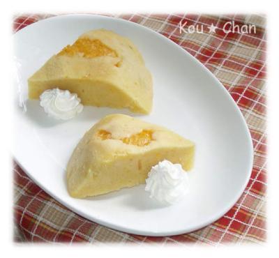 電気釜ケーキ(オレンジ)2
