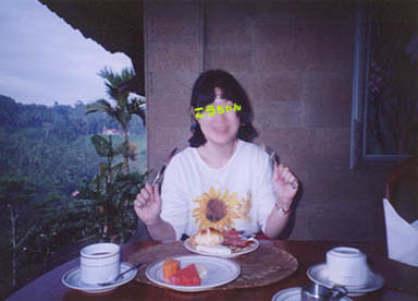 バリ04/ホテルでの朝食