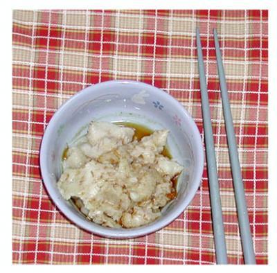 炊飯器で~蓋の角煮02(ラード)