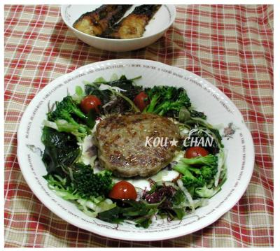 野菜たっぷり豆腐のハンバーグ01