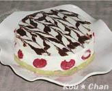 豆腐のレアチーズケーキ