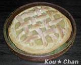 アップルパイ風パン