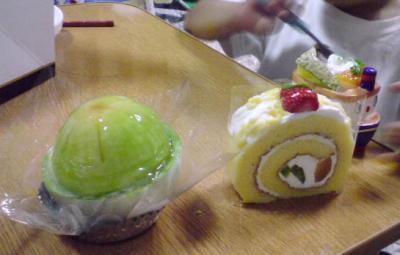 結婚記念日のケーキ05