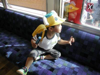 おもちゃ電車08車内