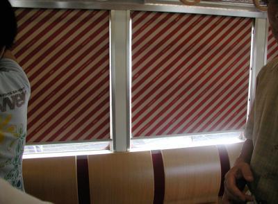 おもちゃ電車10車内