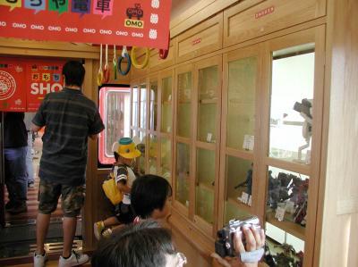 おもちゃ電車19車内ショーケース