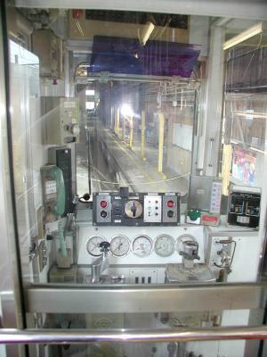 おもちゃ電車44運転席