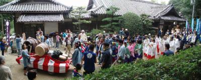 八幡神社の祭囃子2007-1