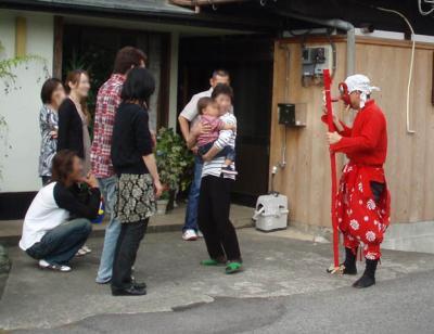 天狗さんと赤ちゃん2007