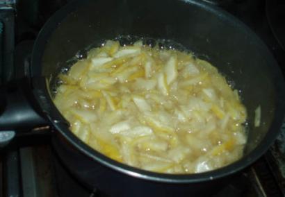 獅子柚子でジャムを作る01