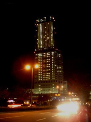 ゲートタワーホテル大阪の夜景
