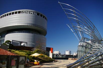 大阪市立科学館と国立国際美術館
