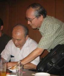 DAICON7-エリックコタニ氏と堀さん