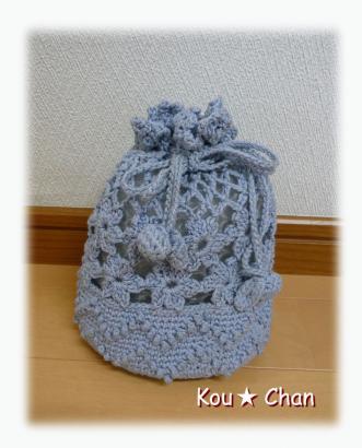 レース編みのバッグ01