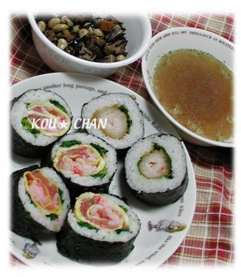 まき寿司/バラ