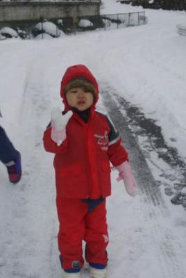 雪遊び2008~01