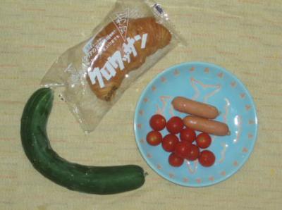 自家製野菜でサンドを!