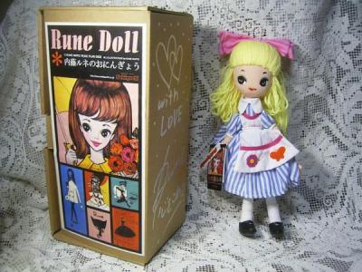 内藤ルネのアリス人形-1