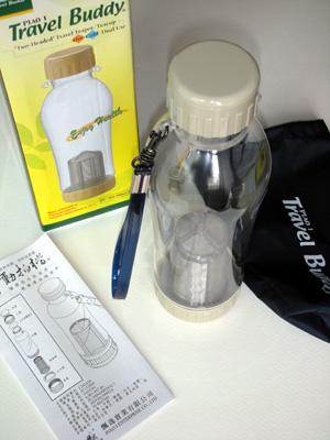 茶濾し付きエコボトル