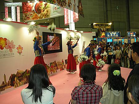 旅行博2010台湾ブース