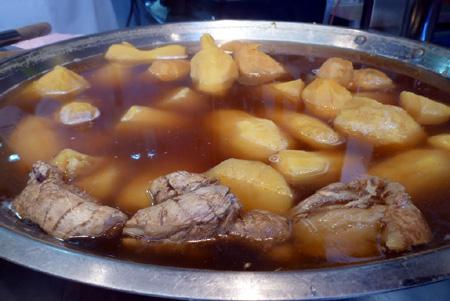 サツマ芋のスィートジンジャースープ