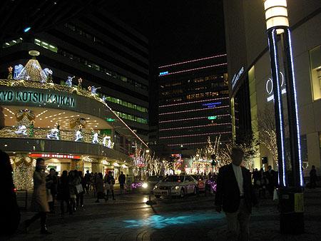 有楽町のクリスマスイルミネーション2010