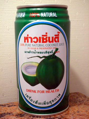 【好聖地】100%純椰子水