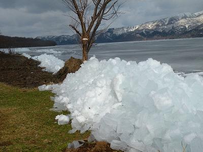 吹き寄せ氷