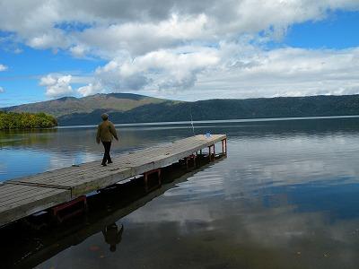 10月6日の湖