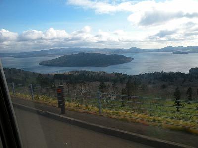 美幌峠から見た湖