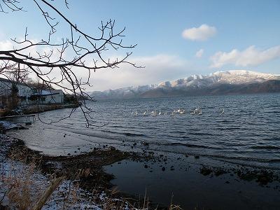 12月15日の屈斜路湖