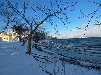 1月7日の湖
