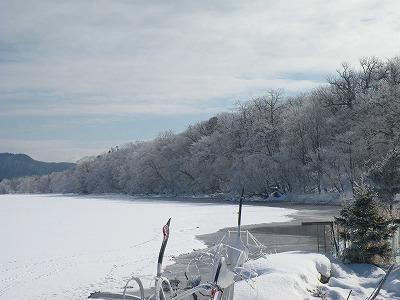 3月5日の屈斜路湖