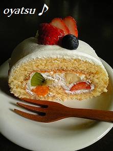 フルーツロールケーキ2