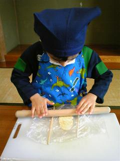 クッキー作り1