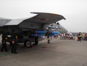 F-15装備品展示1.JPG