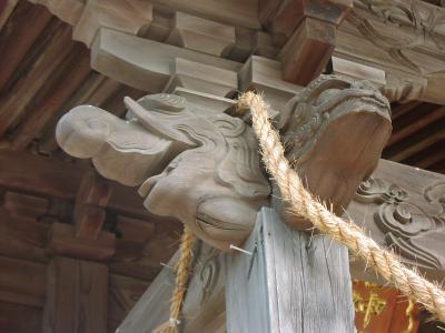 象の受け木(九州)