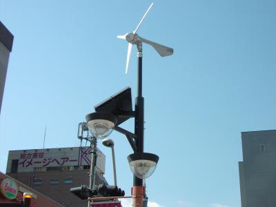 風力。太陽光パネル発電