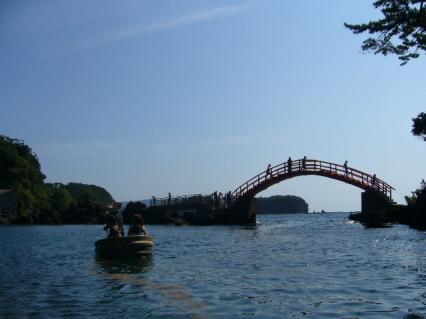 矢島・経島でたらい船