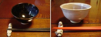 米をとぐのは和敷の仕事