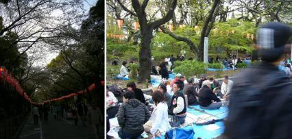 陽気な上野公園