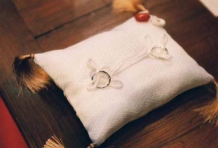 和敷のリングは万年置きっぱなし