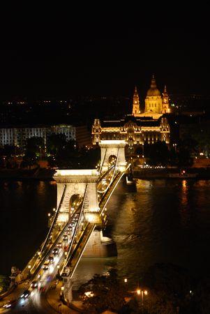 くさり橋ライト