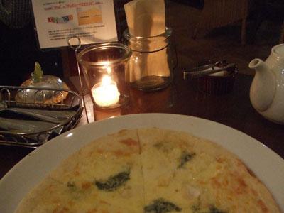 Cafe AMANDINE(カフェ アマンディーヌ) ピザ